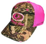 Womens Pink Camo Cap, Mossy Oak Camo Cutie and Realtree Camo Hats
