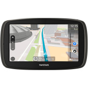 TomTom GO 50 S 13cm Portable Vehicle GPS with Lifetime Maps & Traffic