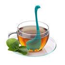 VOANZO Loch Ness Monster Tea infuser with Long Handle Neck, Tea Strainer Superior Flavour Silicone.