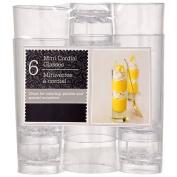 Clear Plastic Cordial Glasses,