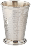 Hammered Mint Julep Cup - Nickel Plated - 350ml