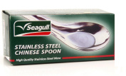 Stainless Chinese Soup Spoons, 12 pc #ISO9001