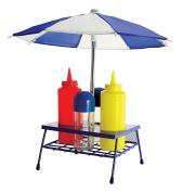 KOVOT BBQ Condiment Set With Removable Umbrella