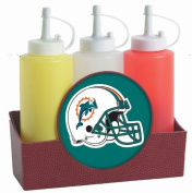 Miami Dolphins NFL Condiment Caddy
