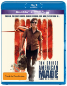 American Made (Blu-ray/UV) [Region B] [Blu-ray]