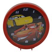 Disney Pixar Cars Dual Function Clock w/ Tabletop or Wall Hanging Feat. - Play Room Clock