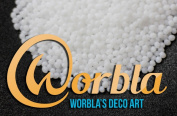 Worbla Deco Art - WHITE Moldable Thermoplastic Pellets 130ml COPLAY friendly plastic beads