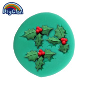 Cake Stand Bakeware Christmas Tree Leaves Moulds for Cake Christmas dacoration Fondant form Chocolate Soap Mould Tools F0311YZ35