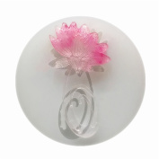 Lotus Flower Pendant Clay Silicone Mould, Crafting, Resin Epoxy, Jewellery Earrings Making, DIY Mobile Phone Decoration Tools,Semi-Transparent