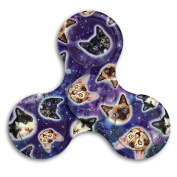 Anxiety Relief Toys Spinner Finger Gyro For Galaxy Cat