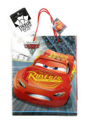 Disney Pixar Cars 3 Extra-Large Glossy Gift Bag with Tissue Paper
