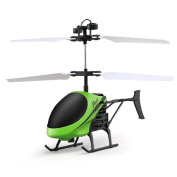Flying Mini RC Infraed Induction Helicopter Aircraft Flashing Light Toys For Kids ,By Gbell