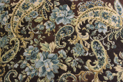 Ninja blender cover - Quilted Double Faced Cotton, Brown Paisley