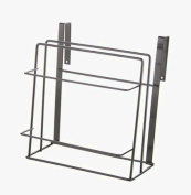 Huayoung Two-layer Steel Hanging Cabinet Door Organiser Trays No Drilling Vertical/Horizontal Cabinet Organisers