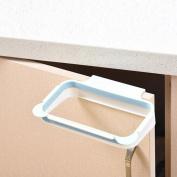 Oksale Home Kitchen Hanging Kitchen Cabinet Hook Trash Rack Storage Garbage Bags