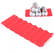 go2buy Bottle Holder Wine Beer Can Stacker Tray Mat Organiser Silicone--Bottle Stacking Mat - Can Stacker - organise space in your fridge and pantry