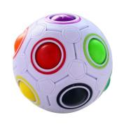 EITC Decompression Cube Fountain Rainbow Cricket Fantasy Toy Cube 3D Puzzle Football Design Fidget Toy