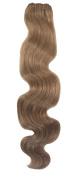SEUEYD Brazilian Virgin Human Hair 12# Body Wave 1 Bundle Remy Human Hair Extensions Hair - 100g/pc,50cm