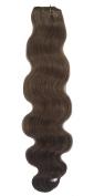 SEUEYD Brazilian Virgin Human Hair 6# Body Wave 1 Bundle Remy Human Hair Extensions Hair - 100g/pc,50cm