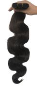 SEUEYD Brazilian Virgin Human Hair 4# Body Wave 1 Bundle Remy Human Hair Extensions Hair - 100g/pc,41cm