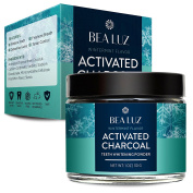 Activated Charcoal Teeth Whitening Powder Made with Organic Coconut shell - Food Grade tooth whitener - Wintermint