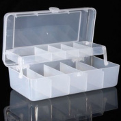 Two layer Tool Spoon Plastic Tackle Box Tool Organisers by Shopidea