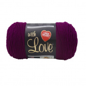 Yarn Red Heart With Love Berry Red 180ml - 170 grammes - 315 yards