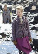 Sirdar Ladies Jacket & Coat Knitting Pattern 9311 Chunky