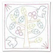 Comolife Made in Japan Needlework Kit , Japanese Traditional Embroidery Kit , Cross Stitch Kits , Tree