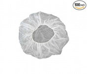 VersaPro 210 50cm Disposable Hair Net, Spun-Bonded Polypropylene, White