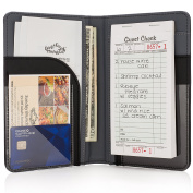 Premium Server Book & Waiter Book Organiser - Strongest & Thickest - Holds Guest Cheques & Server Pads for Waiters