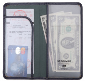 Flexible Cheque Presenter Server Book Waitress Book Restaurant Waitstaff Organiser, Thin and Slim 11cm X 22cm