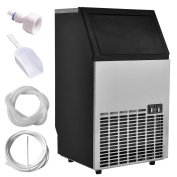 Costzon Built-In Stainless Steel Commercial Ice Maker Portable Ice Machine Restaurant