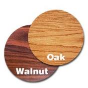 Oak Street Manufacturing OW30R Two Sided Round Tabletop, 80cm Diameter x 2.5cm Thick, Oak/Walnut