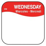 DayMark 1100373 DissolveMark .190cm Wednesday Day Square - 1000 / RL