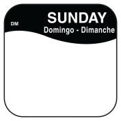 DayMark 1100377 DissolveMark .190cm Sunday Day Square - 1000 / RL