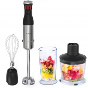 VAVA Immersion Blender, 3-Speed Hand Blender Multi-function Stick Blender Mixer with Chopper Whisk Beaker for Smoothie and Sauce[FDA Approved]