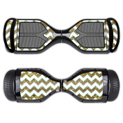 Skin For Swagtron T1 Hover Board – Glitzy Chevron | MightySkins Protective, Durable, and Unique Vinyl Decal wrap cover | Easy To Apply, Remove, and Change Styles | Made in the USA