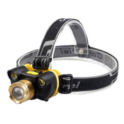 Dreamyth Zoomable 15000LUMENS 3X XM-L T6 LED 18650 Headlamp Head Light Torch Lamp