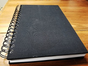 Avant Garde Sketch Journal - Black