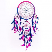 xinstar Dream Catcher Circular Feathers Wall Hanging Decoration Decor Craft
