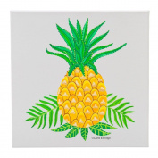 Pineapple - 30cm Square Wall Canvas