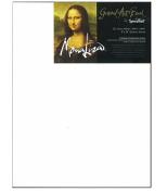 Mona Lisa - Gessoed Masonite - 13cm x 18cm