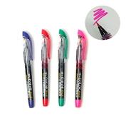 Xeno Calligraphy Colour Brush Pen, Fude Pen, Narrow Tip, Kanji China Japan : 4 Colours Available