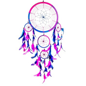 Prochive Dreamcatcher, Handmade Dream Catcher Large, Wall Hanging Decoration Ornament, Purple