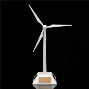 Plastic Desktop Model Solar Powered Windmills Wind Turbine Power Tool