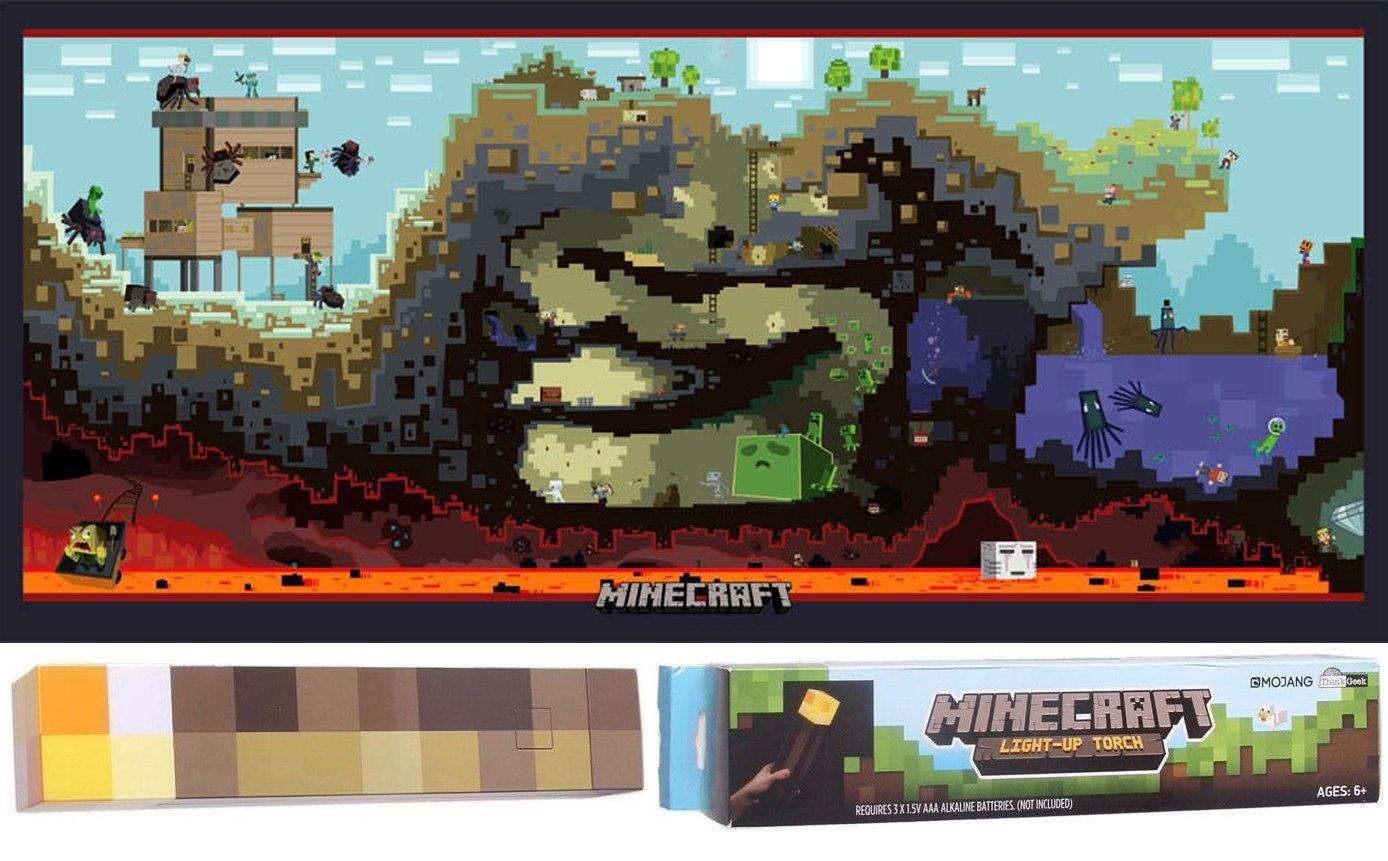 Minecraft Survival Pack Cross Game Section Underground