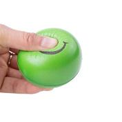BangBang 12PCS Hand Stress Relief Squeeze Foam Ball Smile Face Balls Toys