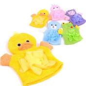 Kimanli Cute Baby Baby BathTowel Plush Animal Shower Wash ClothTowel