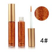 Liquid Eyeliner Eyeshadow , DORIC Glitter & Shimmer Style Long-lasting Liquid Eyeliner
